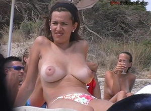 lovely udders on the beach