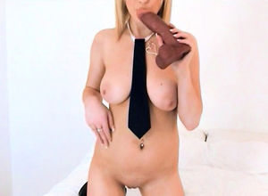Milking 19yo college girl plays with..