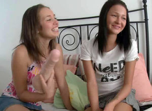 Girly-girl porn, 2 beautiful  having..