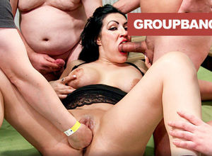 Cum Glazed Gang-bang Empress