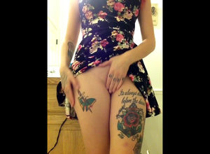 What a doofy tattoo, rose. Why, this..
