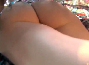 super-cute butt upskirt hidden camera