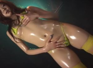 Micro Bathing suit Oily Dance 1..